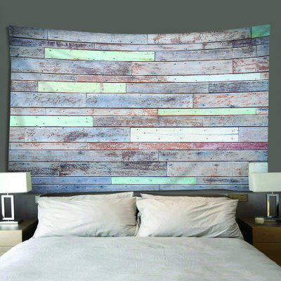 Polyester Waterproof Multifunction Color Version Wood Decorative Tapestry