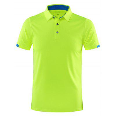 SY219 Male Quick-drying Short-sleeved T-shirt