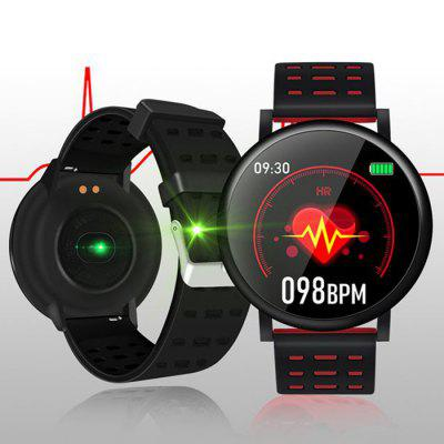S30 Sports Smart horloge 2.5D Touch Screen Continue Hartslag-monitoring Bluetooth Smartwatch