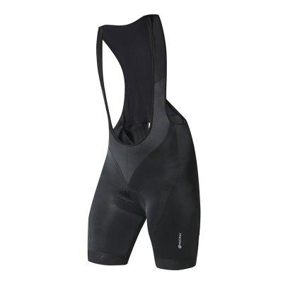NUCKILY MV002 Summer Riding Suspender Trousers Men Breathable Quick-drying Silicone Cycling Shorts