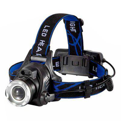 Durable 8000LM XML-L2 XML LED Zoomable Waterproof Headlight Fishing Light