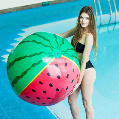 90cm Diameter Inflatable Beach Ball Watermelon Playing Tool