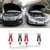 Anti Freezing Car Power Booster Cable 2m 4m Emergency Battery Jumper Wires Battery Jump Cable - RED