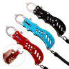 Stainless Steel Durable Fishing Grip Control Pliers Portable Fish Lip Clips Lure Fishing Tackles Angling Accessories - RED