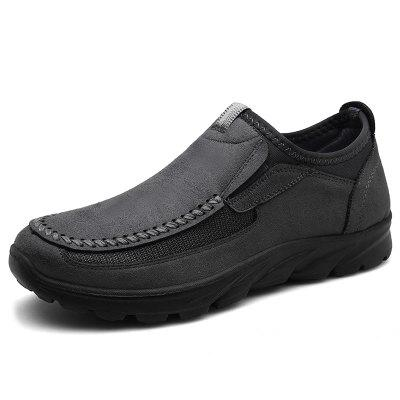 AILADUN Men Casual Shoes Large Size Slip On Footwear for Four Seasons