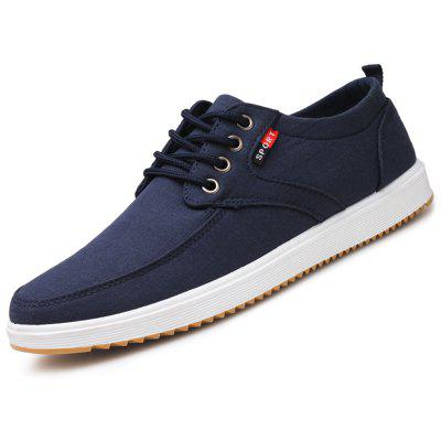 Sports Men Shoes Business Canvas Male Footwear for Autumn Spring Summer