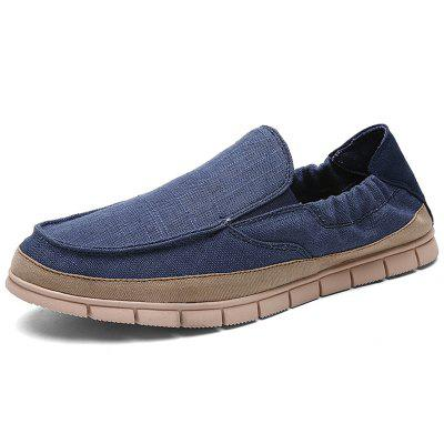 AILADUN Men Canvas Shoes Lightweight Casual Shoe Male Footwear
