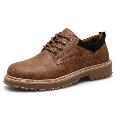 Retro Shoes Tooling Fashion Man Leather Shoes