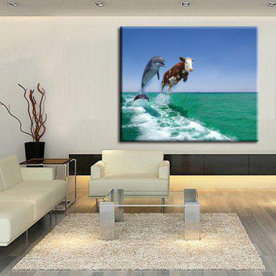 Precision Animals Pictures Printed Decor Canvas Painting without Frame