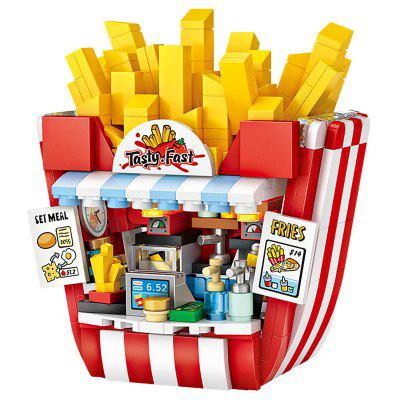LOZ Chip Shop DIY Kids Educational Toy Building Blocks Interesting Puzzles Toys Assembled Block for Children