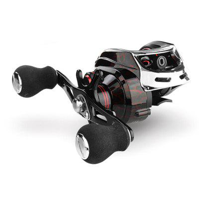 18 + 1 ložiska Low Profile Bait Casting Fishing Reel 7,2: 1 Speed ​​Ratio Left Right Hand Lure Fish navijáky linka spool Ryby Wheel Řešit