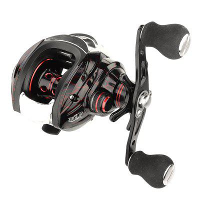 18+1 Bearings Low Profile Bait Casting Fishing Reel 7.2:1 Speed Ratio Left Right Hand Lure Fish Reels Line Spool Fishes Wheel Tackle