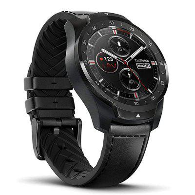 Ticwatch Pro NFC Montre Connectée Bluetooth IP68 Étanche Support NFC Utile