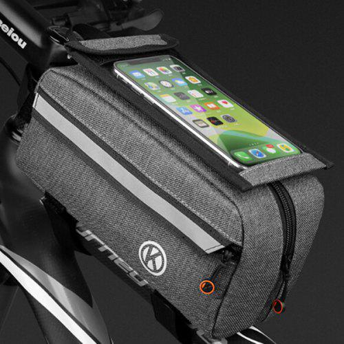 Cycling Mountain Bike Front Tube Bag Saddle Phone Bags Road Riding Equipment Package
