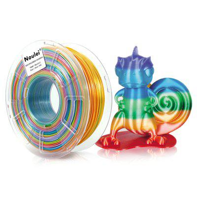 Noulei Silky PLA 3D Printing Filament Shiny Rainbow 1.75mm