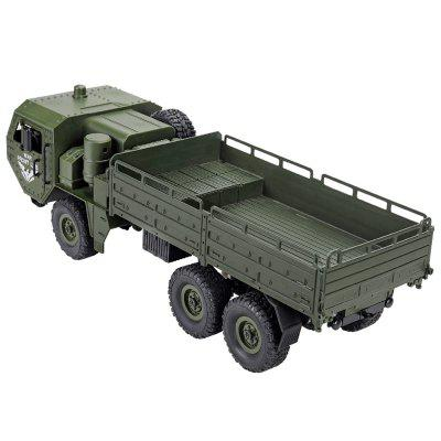 JJRC Q75 2.4G Six Military Trucks Drive Remote Control Car