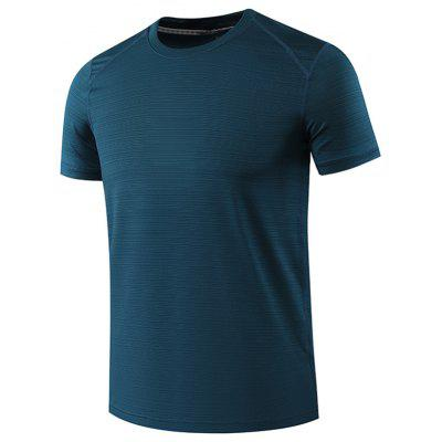 Male Quick-drying Thin Recreational Runners Sports T-shirt