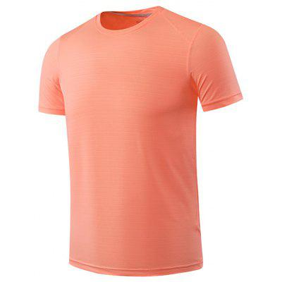 Man Quick-drogende Thin Recreational Runners Sports T-shirt