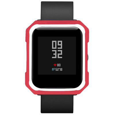 TAMISTER Protective Case Two-color Soft TPU Anti-break Anti-crack for Amazfit Bip / MiFit Youth