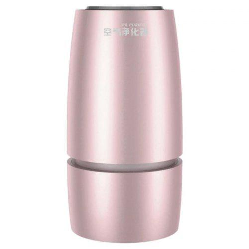 Car Air Purifier Aromatherapy Diffuser 3 Heavy Purification 3 Layers Filter Portable HEPA Air Fresher Cup