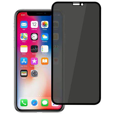 Privacy Protect Screen Film Anti-spy 9H gehard glas Protector voor de iPhone X / XS / XR / XS Max / 11/11 Pro / 11 Pro Max