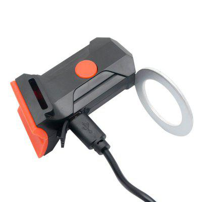 Portable Multi-Mode Bicycle Taillights USB Charging Mountain Bike Saddle Rear Flash Light
