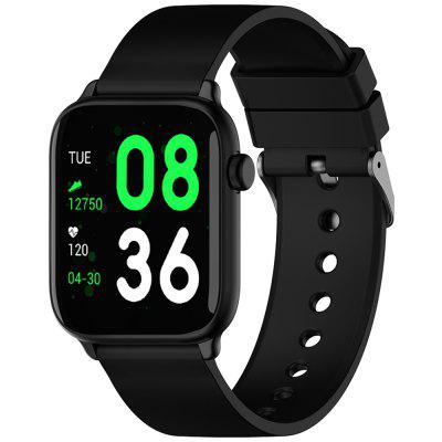 TICWRIS GTS Real-time Body Temperature Detect Smart Watch Heart Rate Monitor Sports Smartwatch with Bluetooth 4.0
