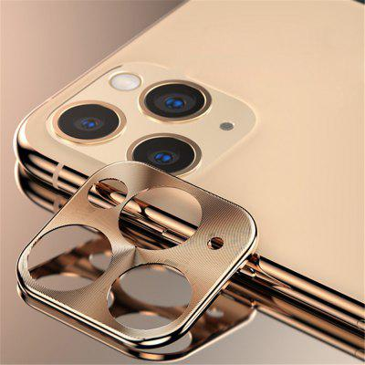 3D Full Tempered Glass 9H Film Camera Lens Protection Aluminum Films for iPhone 11 Pro Max