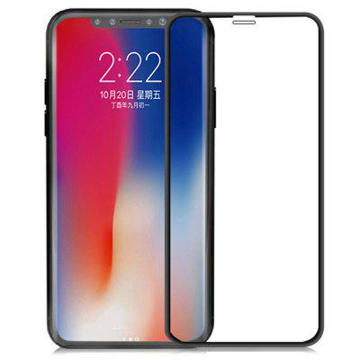 9D Gebogen gehard glas Film Full Screen Protector voor de iPhone 11 Pro Max / X / XS Max / XR / 8 Plus / 7 / 6s / 6