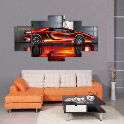 HD Printed Canvas Painting Cool Car Poster Realistic Wall Art Picture Home Decor for Living Room Without Frame