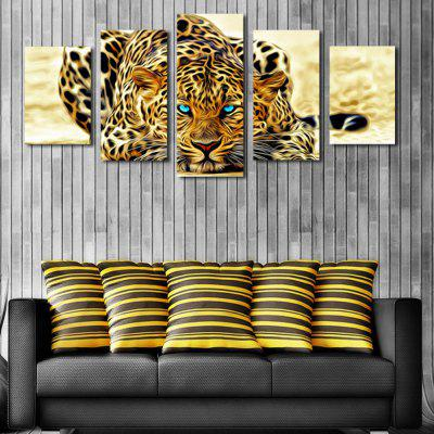 HD Printed Canvas Pictura glowering Tiger Poster Animal Wall Art Picture Home Decor pentru camera de zi fără ramă
