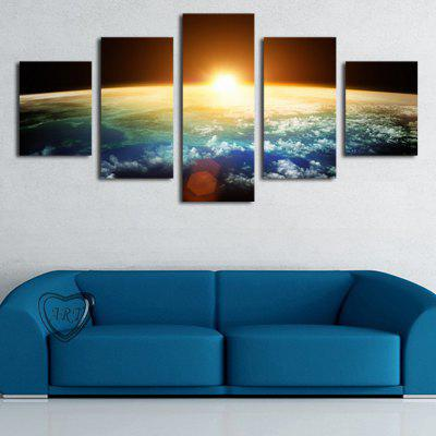 HD Printed Canvas pictarea Sunrise Poster Peisaj Wall Art Picture Home Decor pentru camera de zi fără ramă