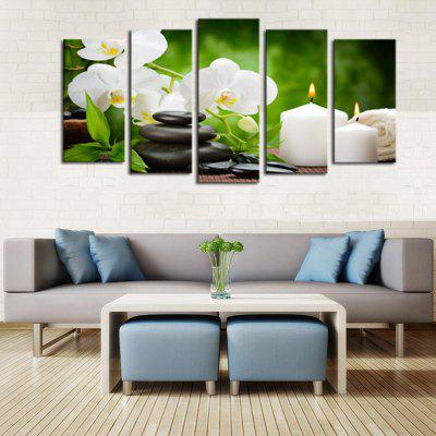 HD Printed Canvas Pictura Tara Timp liber Life Poster de flori Wall Art Picture Home Decor pentru camera de zi fără ramă