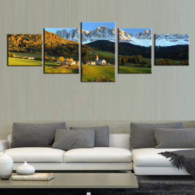 Precision Prairie Pictures Printed Decor Canvas Painting without Frame