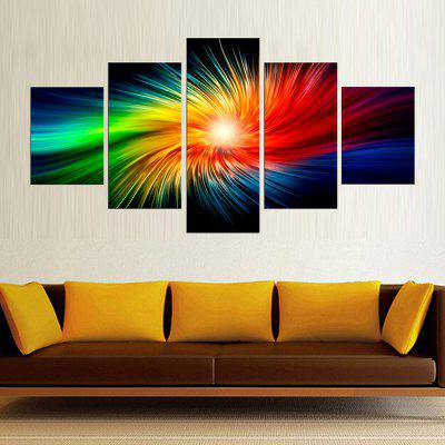 Precision Colorful Pictures Printed Decor Canvas Painting without Frame
