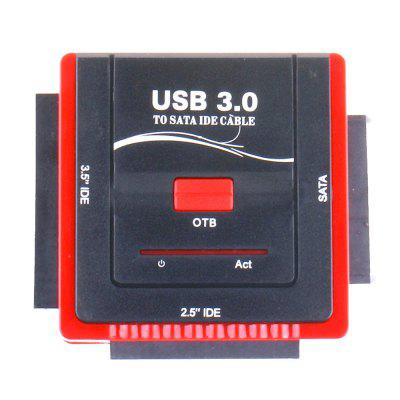888U3IS HDD Dock Station USB3.0 to SATA IDE Hard Disk Adapter Supports OTB One Key Backup