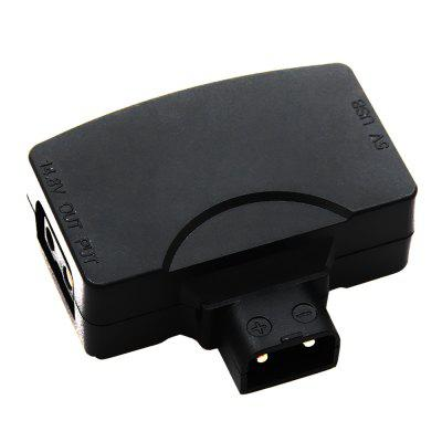 C001 D-Tap to 5V USB Adapter Connecting with V-Mount Battery Supply Power for Camcorder Camera Monitor Smartphone USB Devices
