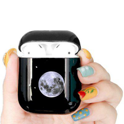 Bluetooth Headset Protective Sleeve Wireless Earphone Charging Box Cover Cartoon Space Planet Hard Case Protector for Apple Airpods 1 2