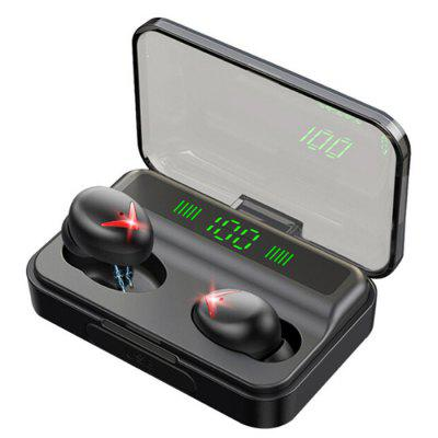A10 TWS Bluetooth 5.0 Wireless Auricolari Bass Stereo LED Digitale Schermo di Gioco Auricolari Automatico Pairing In-Ear con Scatola di Carica