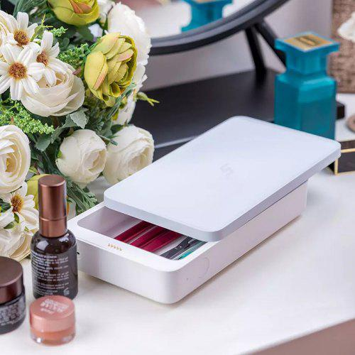 FIVE UVC-LED Sterilizer Tray Box Multifunction Disinfection Cartridge Boxes 10W Wireless Fast Charger from Xiaomi Youpin