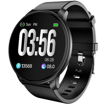 W6 Sport intelligens Watch Vérnyomás Oxygen Heart Rate Monitor Egészség Bluetooth Smartwatch