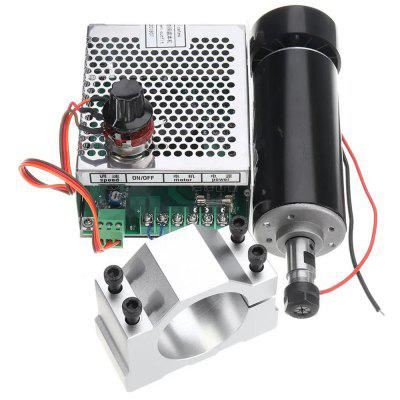 Machifit ER11 Chuck CNC 500W Spilmotor met 52mm Klemmen en Power Supply Speed ​​Governor