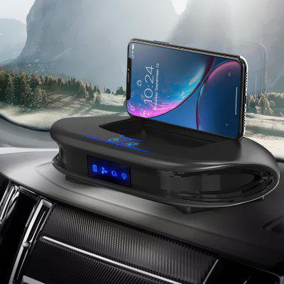 Q5 zonneauto Anion luchtreiniger Aroma Diffuser Phone Holder Beugel HEPA-filter