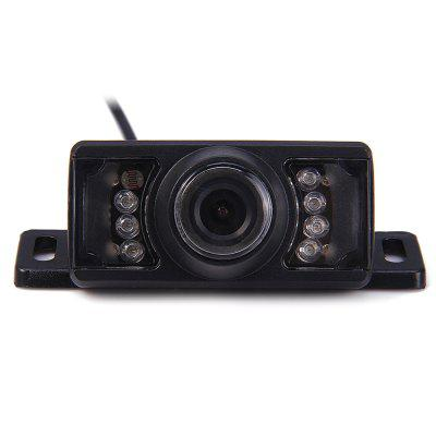 Car Short License Plate Rear View Camera Parking Auxiliary Infrared Night Vision Cam
