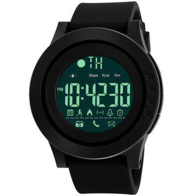 1255 Sport Smart Watch Calorie Pedometer Bluetooth Social Reminder Remote Control Camera Multifunction