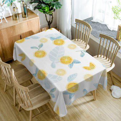 Lemon Fruit Pattern Wallpaper tafelkleed