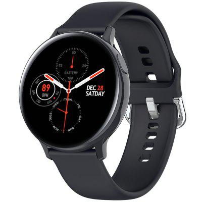 S20 Smart Watch Round Dial Heart Rate Stopwatch Pedometer Bluetooth Photo Message Push IP68 Waterproof