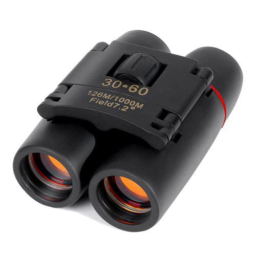 Zoom Telescope 30 x 60 Folding Binocular 126M / 1000M with Low Light Night Vision for Outdoor Travel Camping