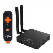 UGOOS AM6 Plus Dolby Audio Dolby Vision Smart TV Box with 4GB LPDDR4 32GB ROM Android 9.0 Support 2.4GHz 5GHz WiFi
