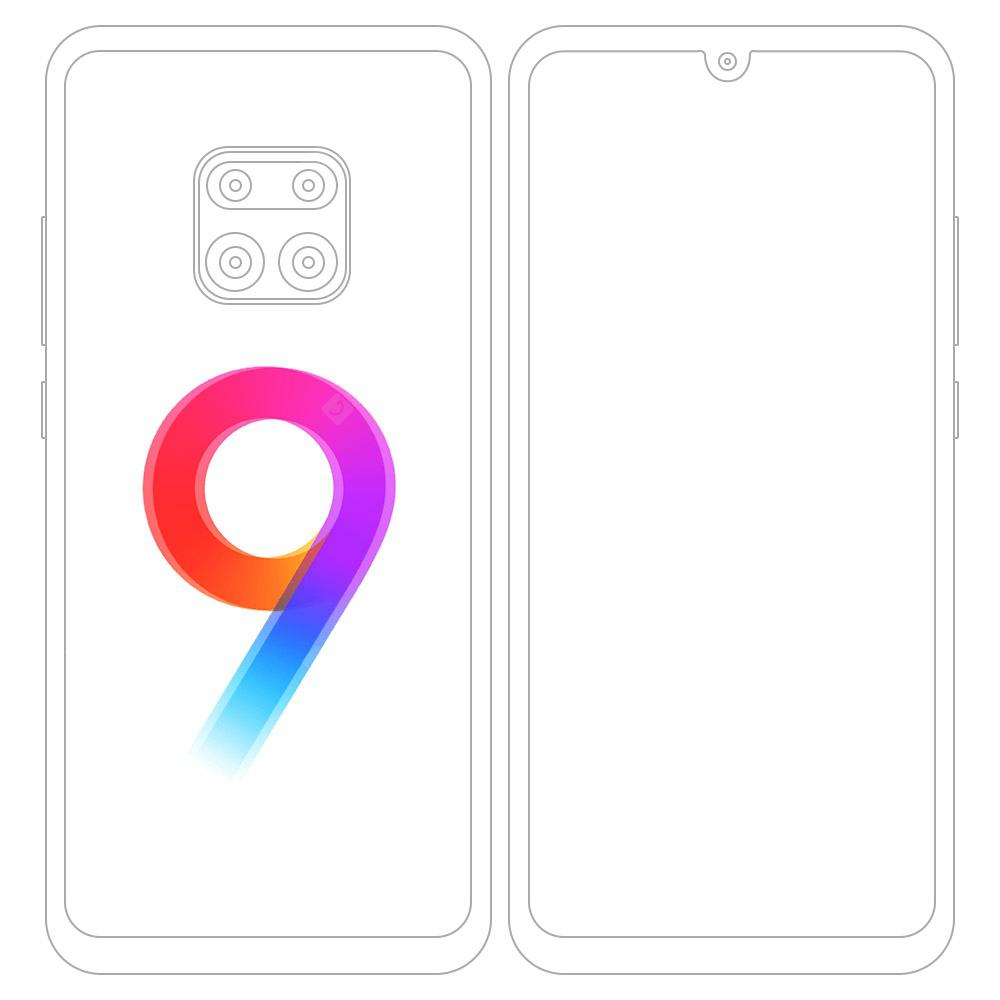 Newest Xiaomi Redmond Note 9S 48MP Quad Camera Mobile Phone Global Version Online Smartphone - White 4GB + 64GB - 199.49€